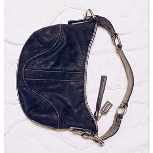 Limited Edition Snakeskin COACH evening purse